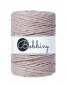 Preview: Bobbiny Macramé Cords 5mm Pearl