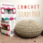 Preview: Hoooked Crochet Pouf Set Cherry Brown