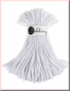 Bobbiny Cords 5mm 100Meter White