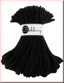 Bobbiny Cords 5mm 100Meter Black