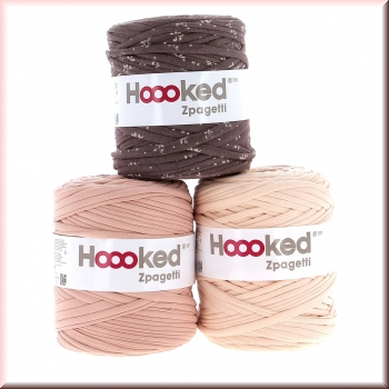 Hoooked Rosy-Brown Deal 3 x 120 Meter