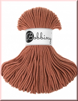 Bobbiny Cords 3mm 100Meter Terracotta