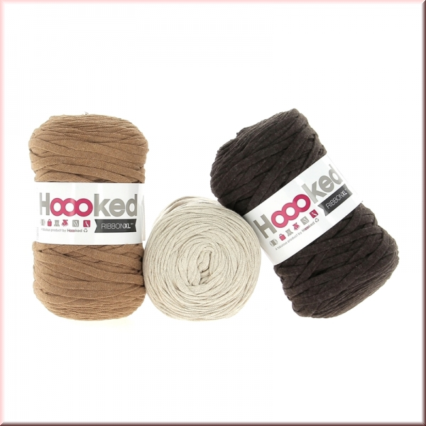 Hoooked Ribbon XL Caramel Deal