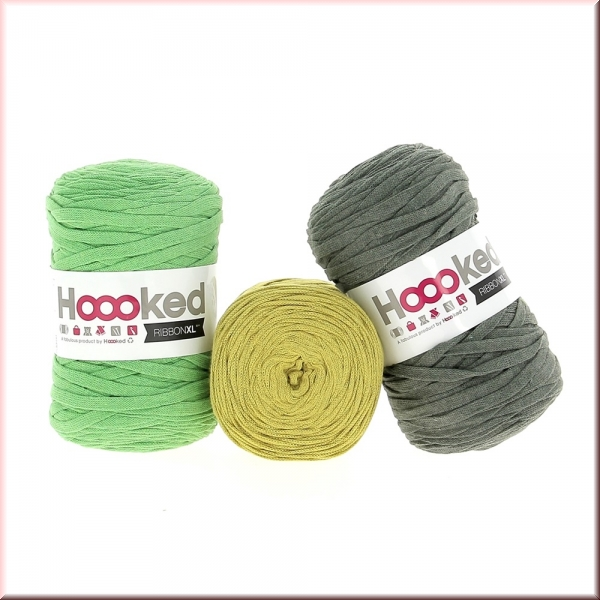 Hoooked Ribbon XL Green Deal