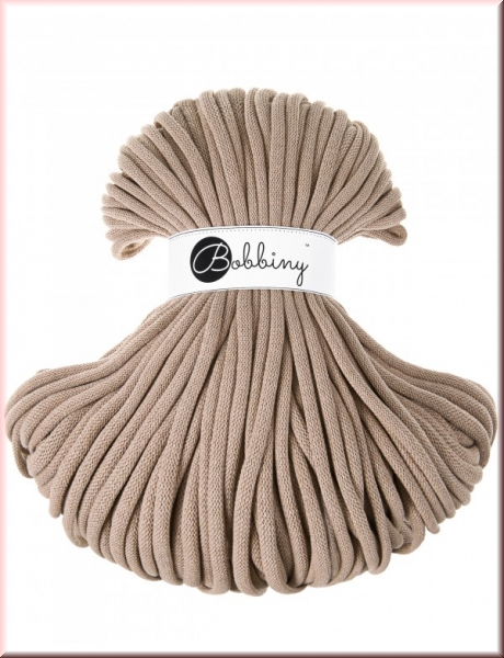 Bobbiny Cords 9mm 100Meter Sand